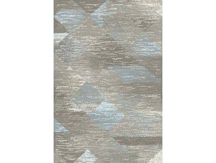 Kusový koberec Dywilan Free Steel Modrý