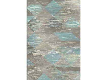Kusový koberec Dywilan Free Steel Mint Zelený