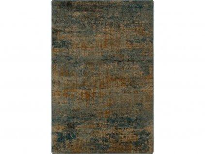 Kusový koberec vlněný Dywilan Omega Super Studio Malachit Zelený