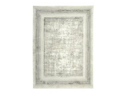 Kusový koberec moderní DAVINCI 2154A Světle Šedý Béžový