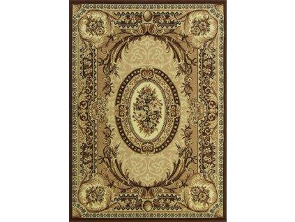 Klasický kusový koberec GOLD 042/12A krémový