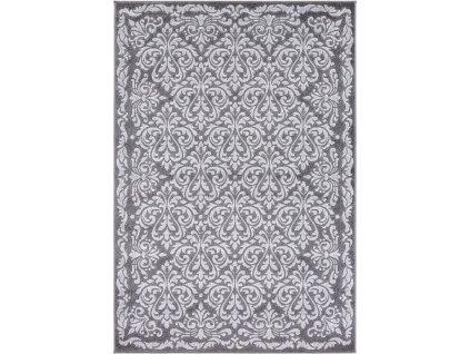 Kusový koberec moderní Agnella Meteo Buran Platyna Šedý
