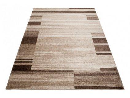 Moderní kusový koberec RASTA  3443A Tmavě béžový