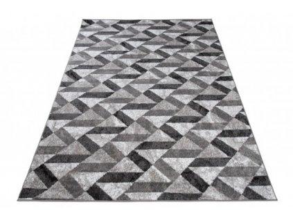 Kusový koberec moderní MAYA Q544D šedý