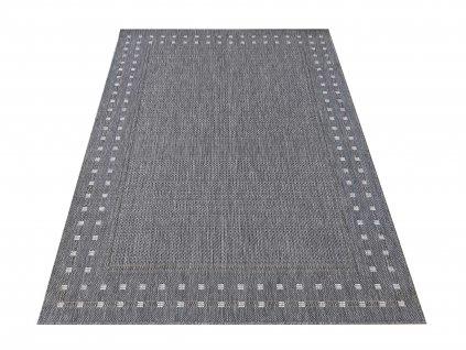 Kusový koberec sysalový oboustranný ZARA 11 Šedý