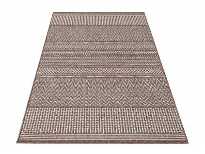 Kusový koberec sysalový oboustranný ZARA 12 Hnědý