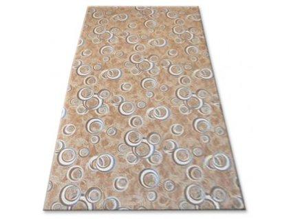 Kusový koberec DROPS béžový