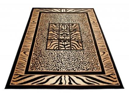 Kusový koberec ATLAS 6600A Černý
