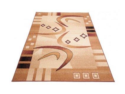 Kusový koberec ATLAS F741A Světle béžový