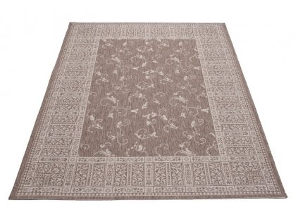 Kusový koberec Sisal Floorlux 20025 Taupe / Champagne