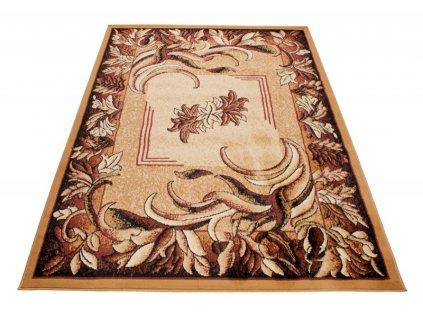 Kusový koberec ATLAS 4492A Béžový / hořčicový