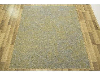 Kusový koberec Serenity 20 žlutý šedý