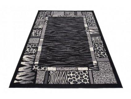Kusový koberec J316B CHEAP Černý