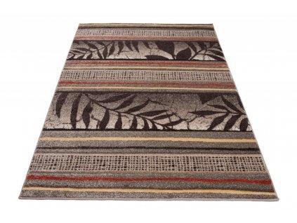 Kusový koberec SUMATRA H093A Listí béžový