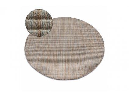 Kulatý koberec NATURE 90000 béžový