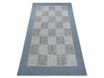 Kusový koberec Sisal  FORT 36217533  béžový / modrý