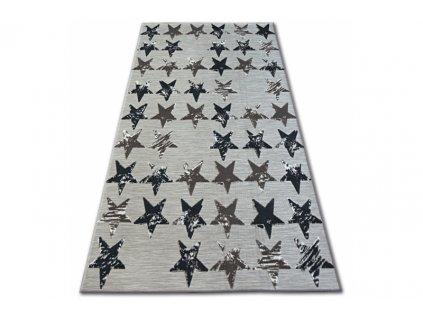 Kusový koberec LISBOA 27219/975 Hvězdy