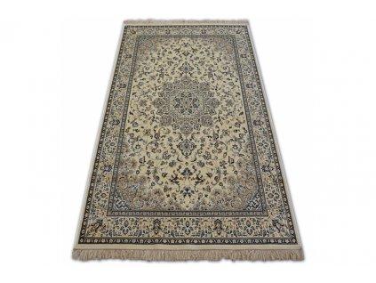 Kusový koberec WINDSOR 22915 slonová kost / modrý