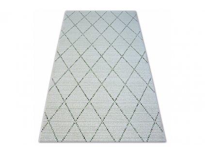 Kusový koberec Sisal COLOR 19436/062 béžový geometrický vzor