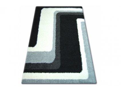 Koberec SHAGGY ZENA 2527 černý šedý