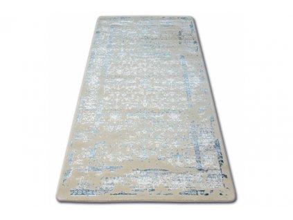 Luxusní kusový koberec MANYAS 0920 Modrý ivory