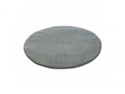 Kulatý koberec SHAGGY MICRO zelený