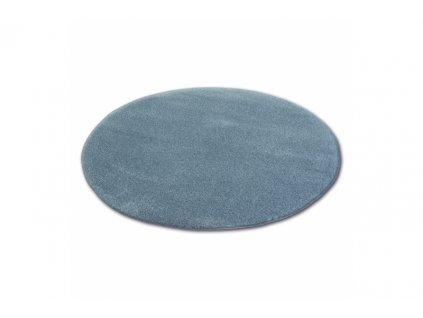 Kulatý koberec SHAGGY MICRO šedý