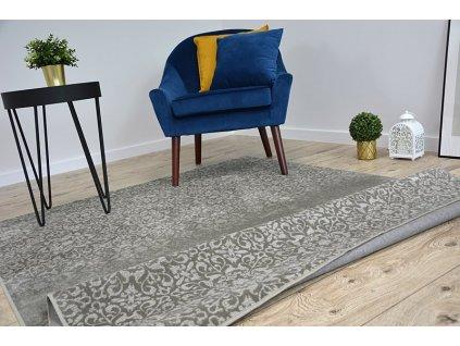 Kusový koberec NOBIS 84312 šedý
