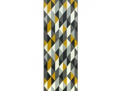 Běhoun LUNA 503652/89915 trojúhelníky žluté