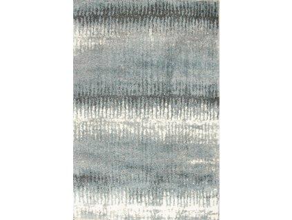 Koberec BOLERO SHAGGY W8581 modrý/šedý