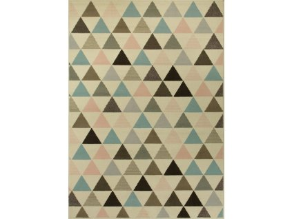 Kusový koberec LUNA 503525/85833 béžový/barevný