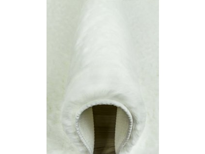Kusový shaggy koberec BELLAROSSA bílý