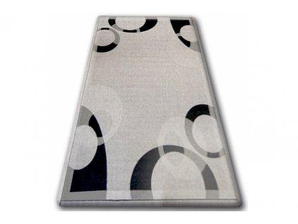 Koberec Sisal Floorlux 20078 stříbrný / černý