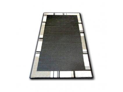 Koberec Sisal Floorlux 20195 černý / stříbrný