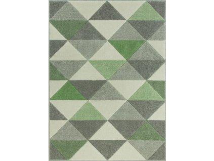 Moderní kusový koberec  Soho 1603-1-17021 trojúhelníky