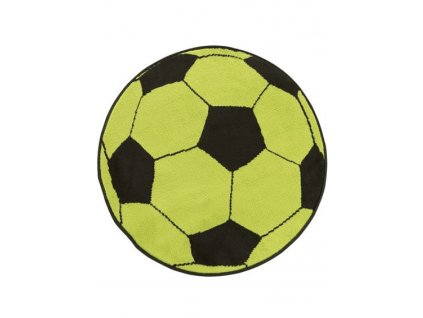 Dětský kusový koberec KIDS 533908/67925 kopací míč zelený