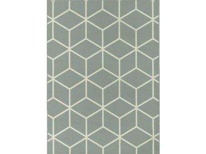 Kusový koberec LUNA 503746/89944 šedý