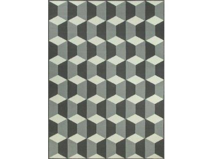 Kusový koberec LUNA 503757/89911 šedý