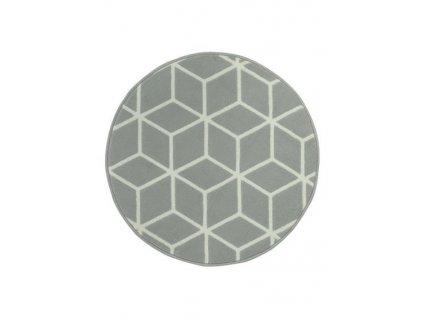 Kulatý koberec LUNA 503746/89944 světle šedý