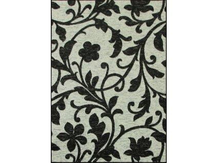 Kusový koberec WHITE 1202/89 černý/šedý