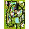 Dětský koberec Agnella Funky Top Super Město C zelené
