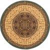 Kulatý koberec Dywilan Eden Vitráž Smaragd