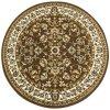 Kulatý koberec klasický ALADIN 510101/50911 hnědý