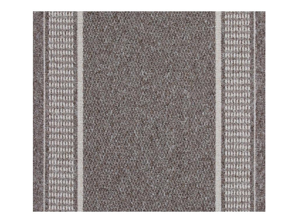 Koberec běhoun Moderní Koberce běhouny Promenade 8714 šedý (Šíře šíře 100 cm)