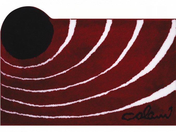 Koupelnová předložka GRUND Colani 2 červená
