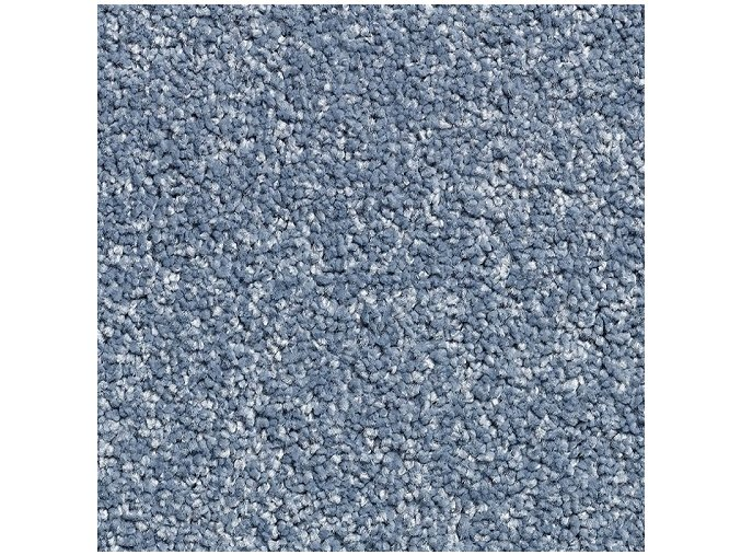 Metrážový koberec bytový Supreme Filc 80 modrý - šíře 4 m