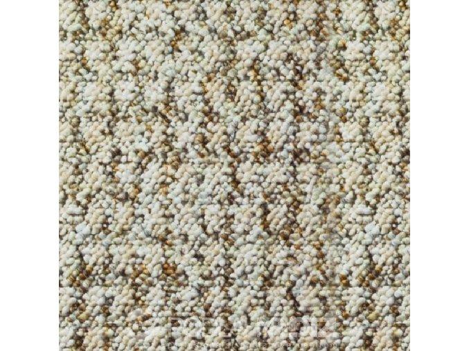 Metrážový koberec bytový Robust Filc 7512 béžový - šíře 5 m (Šíře role Cena za 1 m2)