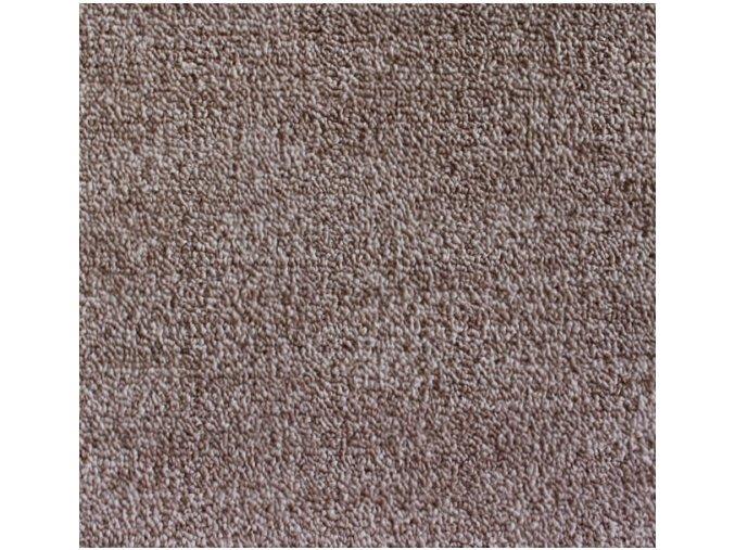Metrážový koberec bytový Leon 11344 hnědý - šíře 3 m