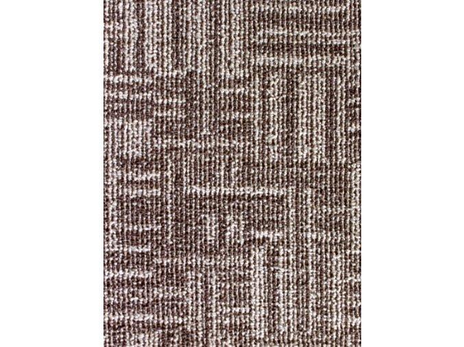 Metrážový koberec bytový Marioka 17446 hnědý - šíře 3 m