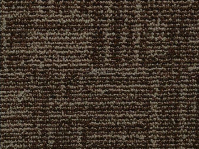 Metrážový koberec bytový Marioka 22046 hnědý - šíře 3,5 m